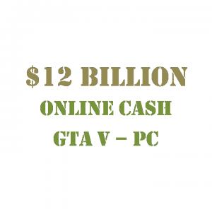 GTA 5 PC Online Cash $12 Billion